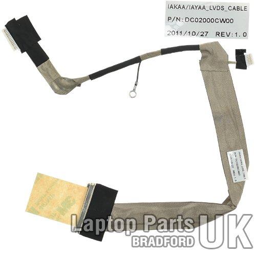 Laptop Parts UK (UK VAT Registered) Toshiba Satellite A135 Displaykabel, LCD-Cable für 15.4-inch Bildschirm -
