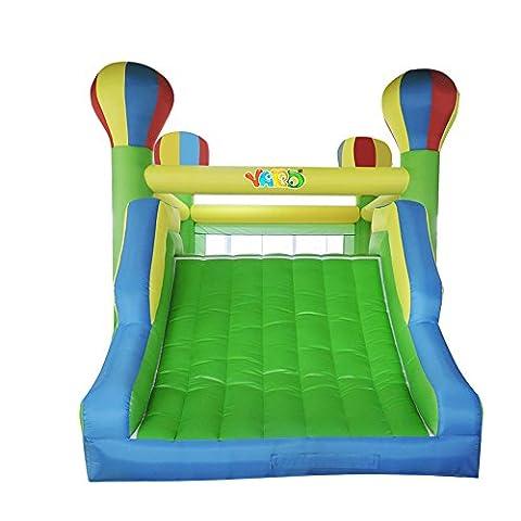 YARD Home Use Big Bounce Haus bunten Luftballon große aufblasbare Rutsche im Freien Spielen Spielzeug Hüpfburg für Party-Events