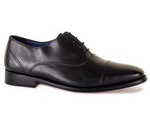 Chatham Ely, Chaussures à Lacets Homme, Noir Noir