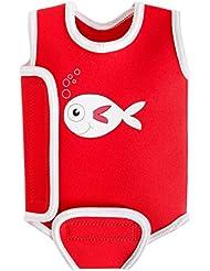 Swimbest - Combinaison en néoprène pour bébé / Combinaison de natation pour garçons et filles pour garder les bébés au chaud dans l'eau – Disponible aujourd'hui en 0 à 6 mois, 6 à 12 mois et 12 à 24 mois