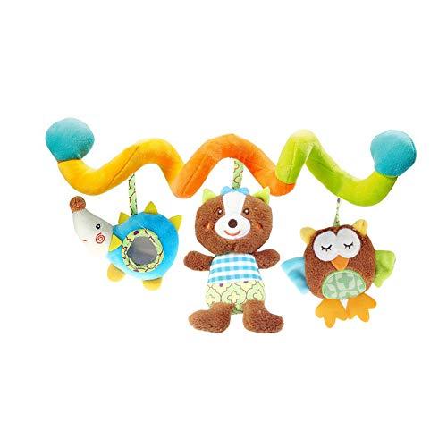 Adore store Baby Rattle Spielzeug Activity Spirale Verpackung um Krippe Bett Bassinet Spaziergänger Schienen-Spielzeug-Baby-hängende Geklapper Spielzeug 1pc -