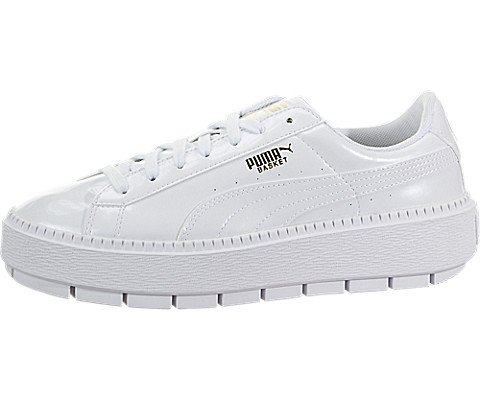 new product a201f 43404 Puma Women's Basket Platform Trace Sneakers