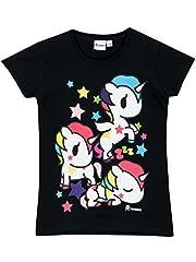 Idea Regalo - Tokidoki - Maglietta a maniche corte - Unicorno - Ragazza - 13 - 14 Anni