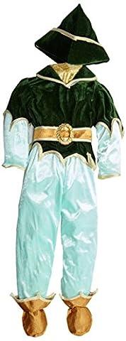 Dress Up America 437-T4 - Peter Pan Kostüm, Deluxe-Ausführung, 3-4 Jahre (Taille 69 cm, Größe 97 cm),