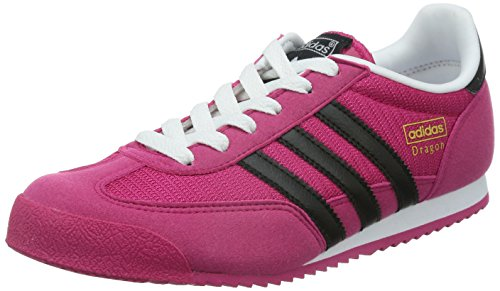Adidas Originals Dragon Sneakers, Unisex Bambino Rosa (Bold Pink/Core Black/Ftwr White)