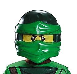 Lego Mask, Kids Lloyd Ninjago Costume Accessory