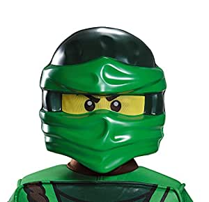 lego ninjago maske lloyd gr n kinder einheitsgr e spielzeug. Black Bedroom Furniture Sets. Home Design Ideas