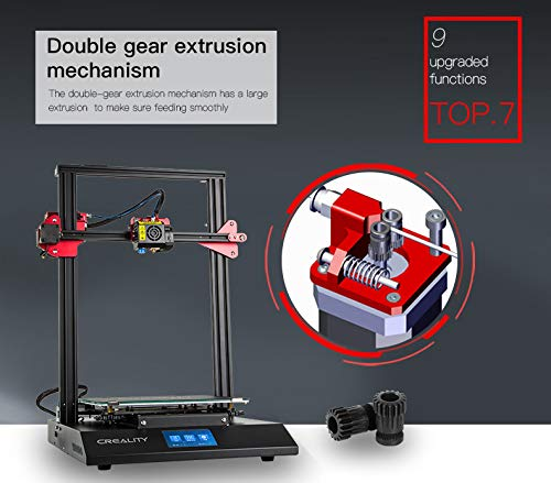 Luxnwatts Creality CR-10S Pro 3D Printer Auto Leveling Sensor And LCD Double Extrusion With Resume Printing Filament Detection Function 300x300x400mm - 6