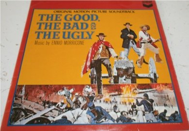 THE GOOD THE BAD THE UGLY ORIGINAL SOUNDTRACK VINYL LP[SULP1197]1968