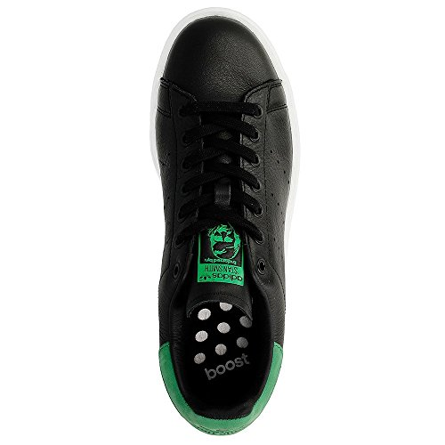 Adidas Schuhe Stan Smith Boost Herren core black-core black-green (BB0009)