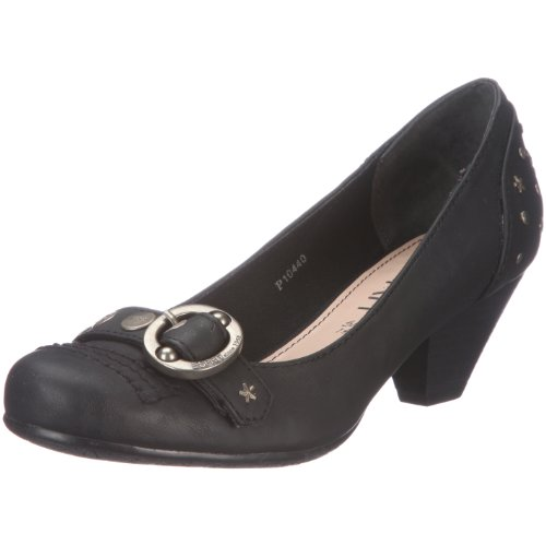 ESPRIT Gina Pump P10440, Damen, Pumps, Schwarz (black 001), EU 37
