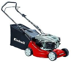 Einhell Benzin-Rasenmäher GH-PM 40 P (1,6 kW, 40 cm Schnittbreite, 3-fache Schnitthöhenverstellung 32-62 mm, 45 l Fangsack)