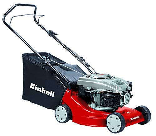 einhell gh pm 40 Einhell Benzin Rasenmäher GH-PM 40 P (1,6 kW, 40 cm Schnittbreite, 3-fache Schnitthöhenverstellung 32-62 mm, 45 l Fangsack)