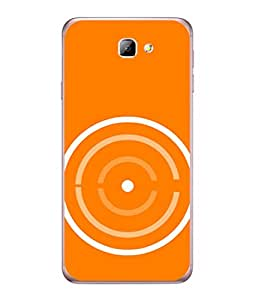 PrintVisa Designer Back Case Cover for Samsung On5 (2016) New Edition For 2017 :: Samsung Galaxy On 5 (2017) (Fancy attractive rare design orange yellow)