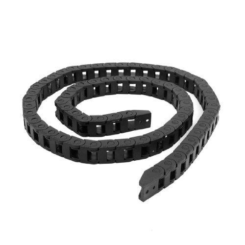 Noir 103 cm de câble frein gigognes Porte-chaîne 10 x 10 mm