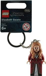 LEGO Piratas Del Caribe: Elizabeth Swann Llavero de LEGO