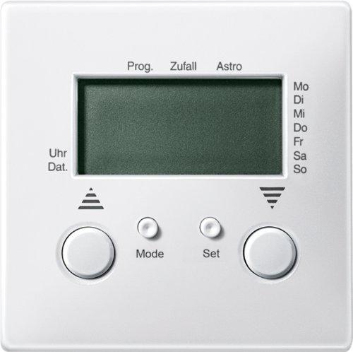 Preisvergleich Produktbild Merten 584119 Jalousie-Zeitschaltuhr, polarweiß, System Fläche