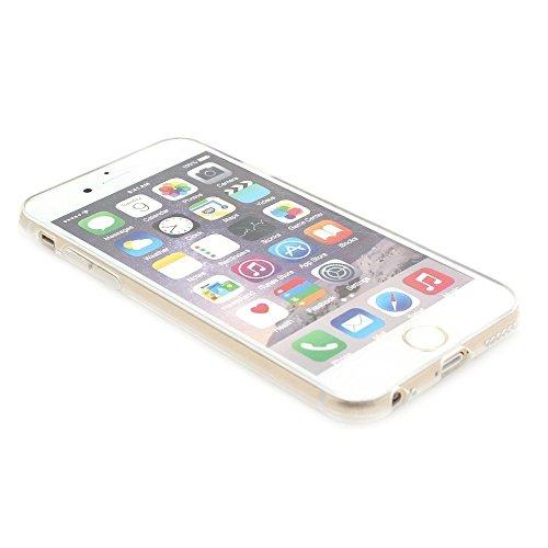 ARTLU® Silicone Étui Housse Protecteur TPU Coque pour Apple iPhone 6 Plus / iPhone 6S Plus (5.5 pouce) - Henna Series Apple A17 W19