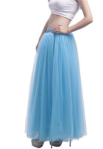 Noriviiq Damen Unterkleid Hellblau