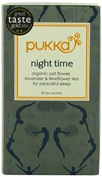 Pukka Organic Teas, Night Time, 20 Count (Pack of 6)