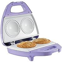 HOBERG Törtchen-Star, Pie Maker mit CERASLIDE BIO-LON CERAMIC Antihaftbeschichtung, Lavendel