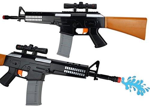 XXL Hyper-Elektro Wasserpistole Wassergewehr ca.62cm 0,4 Tank ELEKTRISCH