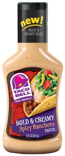 taco-bell-bold-creamy-spicy-ranchero-sauce-8-ounce-pack-of-6-by-taco-bell