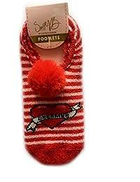 Primark Licenced - Calcetines - para mujer Multicolor rojo/blanco Talla única