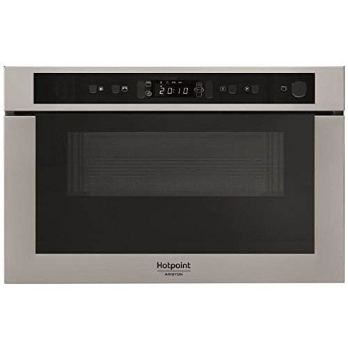 WHIRLPOOL MH 400 IX - Micro-ondes combiné encastrable inox anti-trace - 22L - 750 W - Grill 700 W
