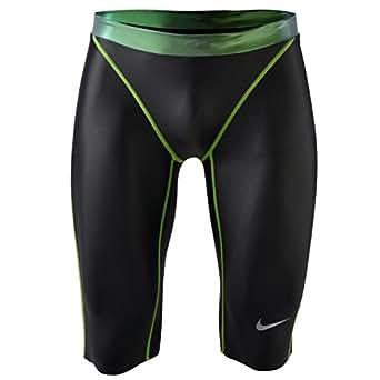 Nike pour homme Swift Jammer Short de bain pour tronc Vert foncé -  gris -  58