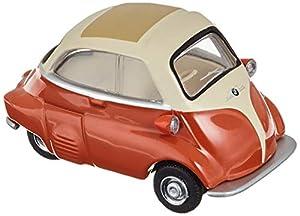 Schuco 452016500 452016500-BMW Isetta - Maqueta de Coche (Escala 1:64), Color Naranja y Crema