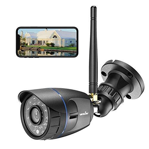 Q5 Negro Audio bidireccional y visi/ón Nocturna C/ámara de vigilancia Wi-Fi c/ámara IP para Interior 1080P Wansview FHD con detecci/ón de Movimiento para vigilancia de Animales de compa/ñ/ía//beb/é