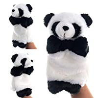periwinkLuQ Cute Hand Puppet Panda Animal Plush Doll Storytelling Toy for Adults Children Play and Learn Educational Game Gift
