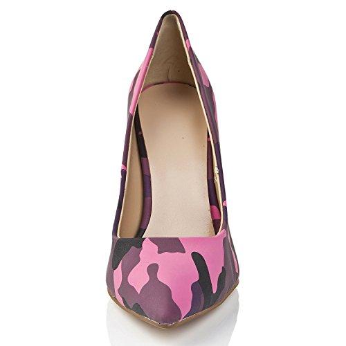 Minitoo , Sandales Compensées femme Violet - violet