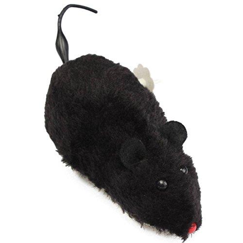 Preisvergleich Produktbild FOCUSPET Katzespielzeug Smart Running Maus Pelzigen Maus Ratte Mäusen kätzchen