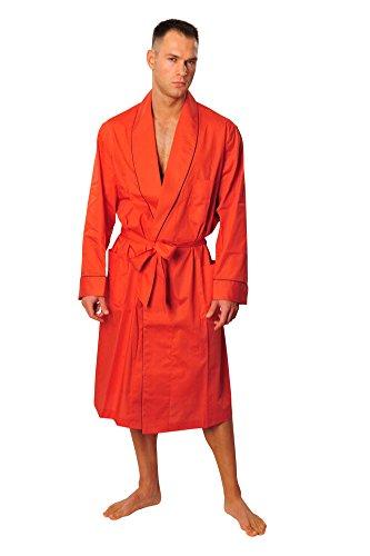 brioni-morgenmantel-herren-orange-baumwolle-einfarbig