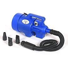 pedigroom Higiene Profesional Para Perros Secador de pelo Arandela Blaster Calefactor Azul