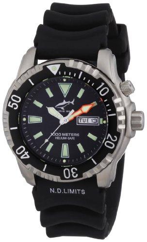 Chris Benz Unisex-Armbanduhr Analog Kautschuk CB-1000H
