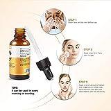 Natürliches Vitamin C Serum hochdosiert mit 20% Vitamin C + Hyaluronsäure und Arganöl | Bio Kollagen Booster Gesichtsserum | Anti Aging | Tagespflege und Nachtpflege | parabenfrei | vegan - 3