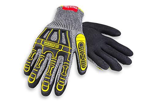 Weber Rescue TH-Handschuhe Extrication 2090W (4544XP nach EN 388) für Feuerwehr und Rettungsdienst (9/L)
