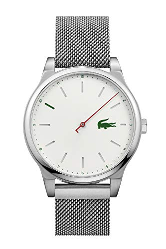 Lacoste Mens Analogue Classic Quartz Watch with Stainless Steel Strap 2010969