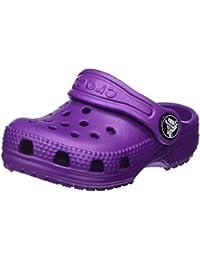 crocs Unisex-Kinder Classic Clog Kids, Rot, 36 EU