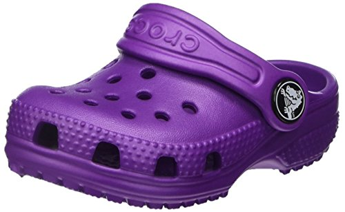 crocs Unisex-Kinder Roomy fit Classic Clog, Violett (Amethyst), 20-21 EU (C5 UK) -