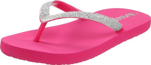 Reef Stargazer, Tongs fille Rose (Pink/Silver)