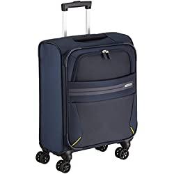 American Tourister Summer Voyager Spinner Equipaje de Mano, 55 cm, 36 litros, Color Azul