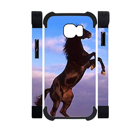 Babu Building Mit Horse Telefonkasten Aus Kunststoff Und Silikon Verwenden Für Samsung Galaxy S6 Für Jungen Kreativ