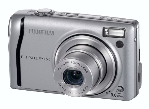 FujiFilm FinePix F47fd Digitalkamera (9 Megapixel, 3-fach opt. Zoom, 6,4 cm (2,5 Zoll) Display)