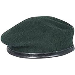 Diseño militar de pareja de boinas de alta calidad - British Made - 100% de la unidad de lana colores en todas las