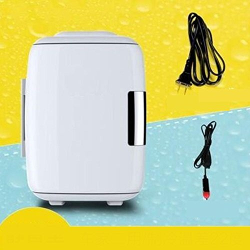 SL&BX Mobile mini-kühlschrank,Mini portable kältetechnik kältetechnik milch lagerung brust milch kühlschrank zu hause klein kühlschrank-Weiß - Kühlschrank Brust, Gefrierfach Mit