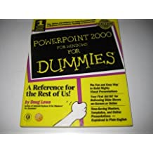 [(PowerPoint 2000 for Windows For Dummies)] [by: Doug Lowe]